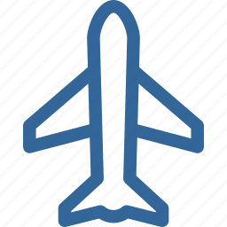 airbus, airplane, airport, transportation icon