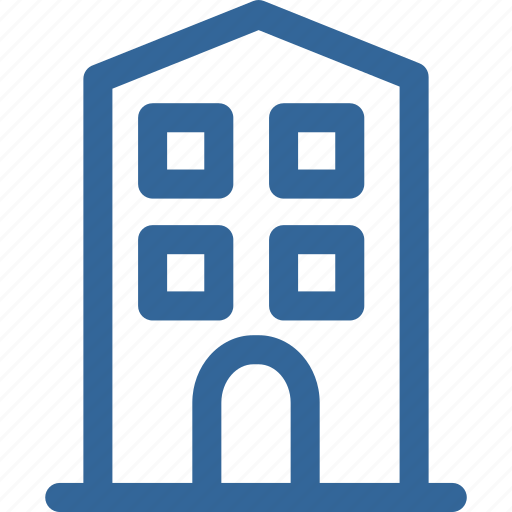 apartment, home, homestay, hotel, house icon