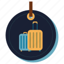 bag, handbag, luggage, purse, suitcase, travelingkit icon