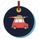 car, toyscar, transport, traveling, trip, vehicle icon