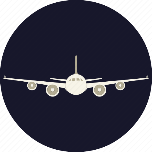 airplane, aviation, flight, holiday, transport, travel icon