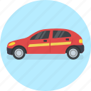 automobile, cab, car, travel, van, vehicle icon