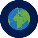 earth, global, globe, network, web, world, worldwide icon