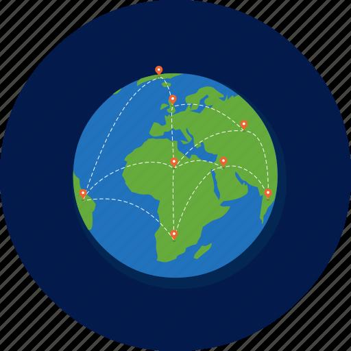 Earth, world, worldwide, global, globe, network, web icon - Download on Iconfinder