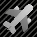 aeroplane, airplane, flight, holiday, transportation, traveling, vacation