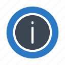 about, faq, help, info, sign icon