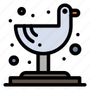 bird, seagull, tropical icon