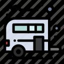 camp, camping, caravan, transport