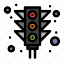 city, light, signal, traffic
