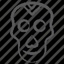 danger, headbone, human skull, pirate skull, scalp bone, skullcap