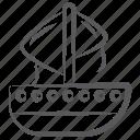boat, sailboat, sailing boat, sailing ship, yacht