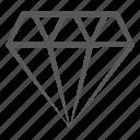 allotrope, diamond, jewel, precious stone, rhombus
