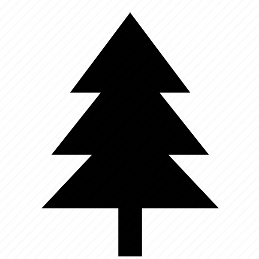 fir, nature, new, tree, year icon