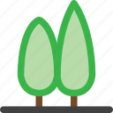 decoration, forest, garden, group, grow, nature, tree icon