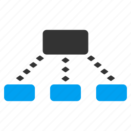 connect, connection, dotted line, joined, links, network, scheme icon
