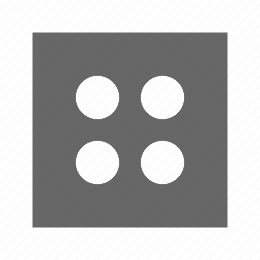 dot, grid, solid, square icon