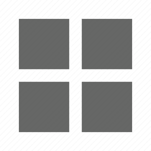 grid, solid, square, table icon