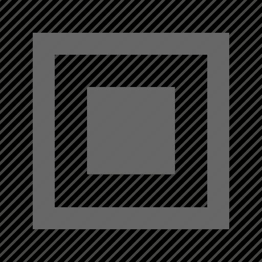 checkbox, media, multimedia, pause, select, square, stop icon