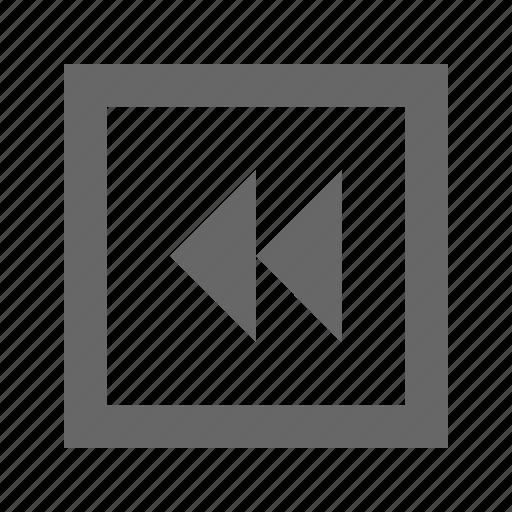 double, left, square, triangle icon