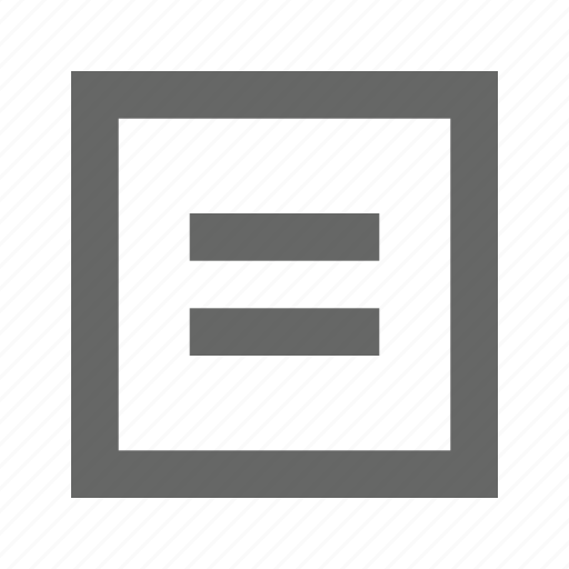 equal, equation, parallel, sum icon