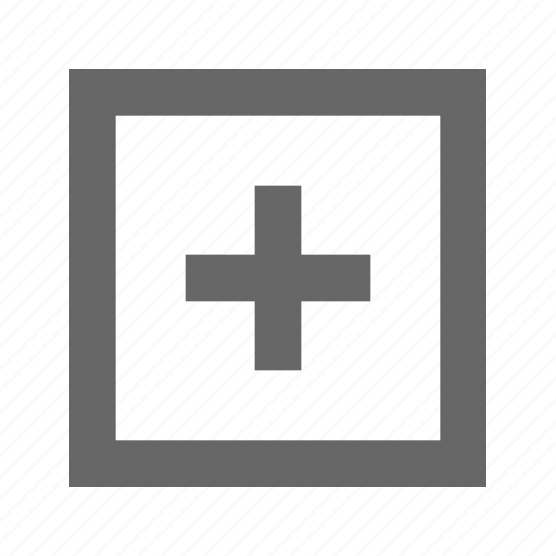 add, create, expand, maximize, new, plus icon
