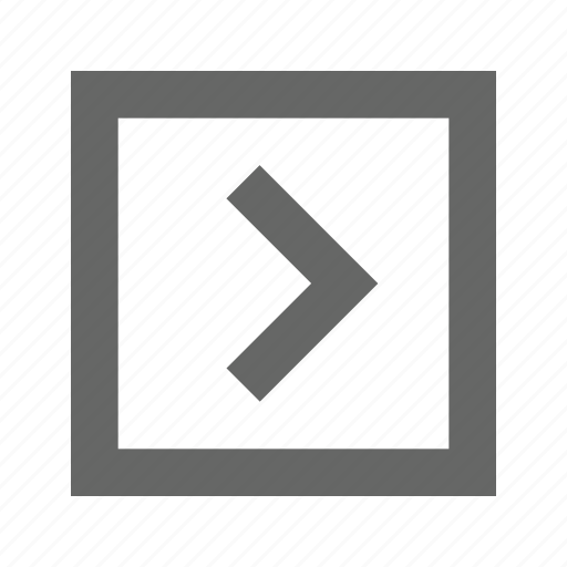 right, square icon