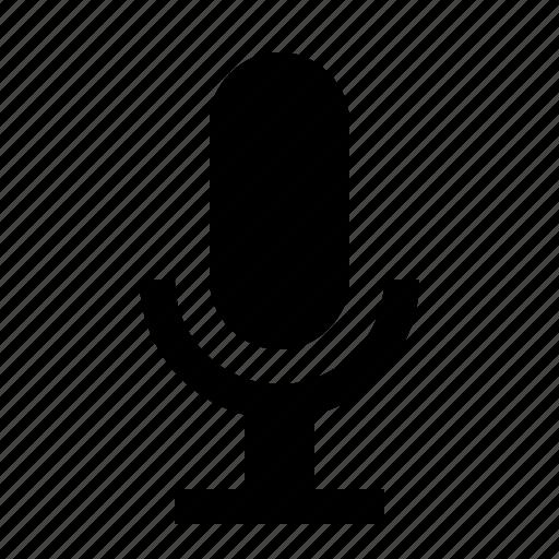 audio, microphone, sing, sound, speak, voice icon