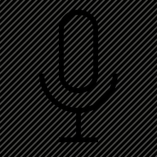 audio, media, microphone, music, record, sound icon