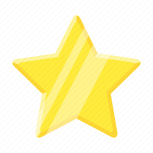 awards, badge, favorite, gold, star, trophy, win icon