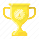 achievement, award, awards, cup, gold, trophy, winner icon