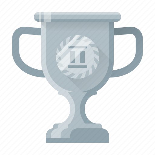achievement, awards, cup, prize, silver, trophy, win icon