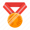 achievement, award, awards, bronze, medal, success, trophy icon