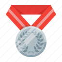 achievement, awards, best, medal, silver, trophy, winner icon