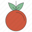 apple, fresh, fruit, healthy, organic, sweet, tropical icon