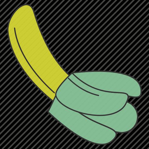 banana, food, fresh, fruit, health, organic, tropical icon