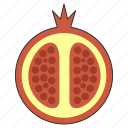 food, fruit, health, organic, passion, tropical icon