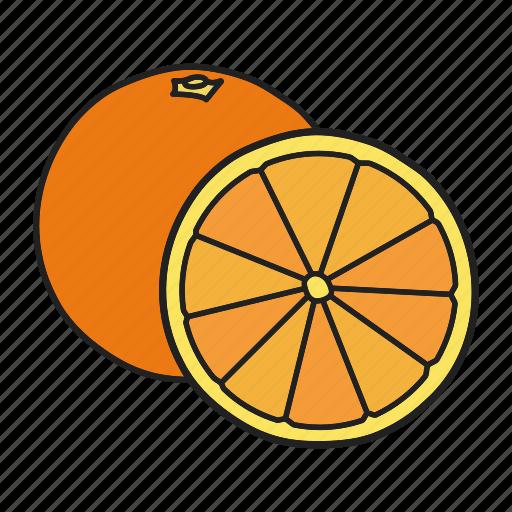 citrous, citrus, lemon, lime, orange, tropical icon