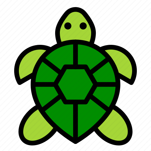 amphibian, animal, reptile, tropical, turtle icon