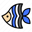 animal, fish, sea, seafish, tropical icon