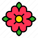 flora, floral, flower, tropical icon