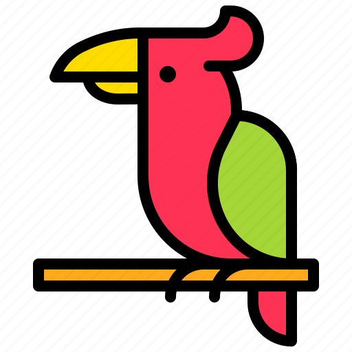 Animal, bird, parrot, tropical icon - Download on Iconfinder