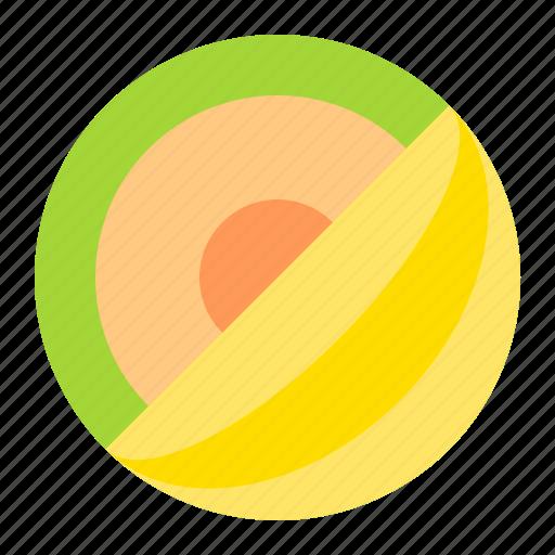 fresh, fruit, melon, tropical icon