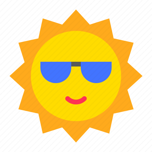 hot, sun, sunny, tropical, weather icon
