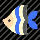 animal, fish, sea, seafish, tropical icon