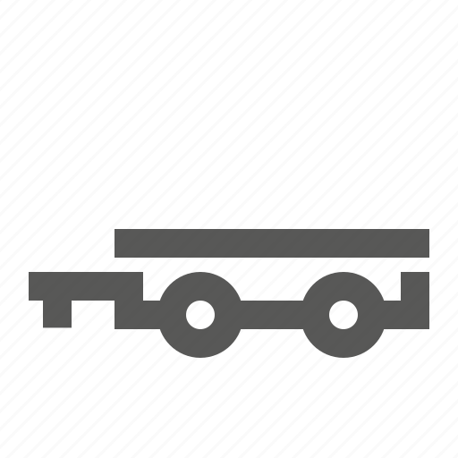 delivery, hindcarriage, shiping, trailer, transport, transportation, vehicle icon