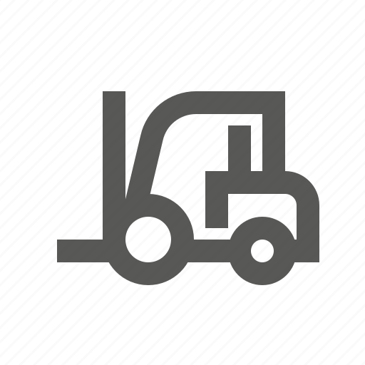 forklift, loader, shipping, transport, truck, vehicle icon