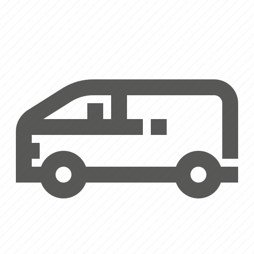bus, delivery, minibus, shiping, transport, transportation, vehicle icon