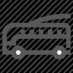 bus, streetcar, transport, transportation, trolley, trolleybus icon