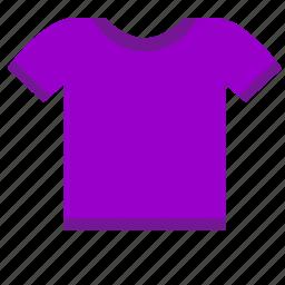 child, modern, tshirt, violet, wear icon