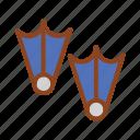 flipper, set, summer, tukicon icon